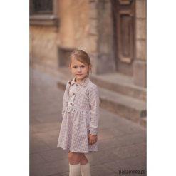 Sukienka Maple. Brązowe sukienki dziewczęce z falbanami Pakamera, z bawełny. Za 169,00 zł.