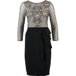 Sukienki hiszpanki: Adrianna Papell Sukienka etui grey/black