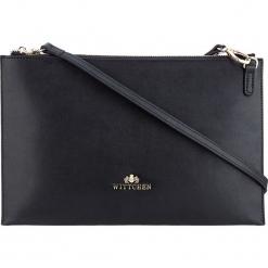 Torebka damska 85-4-638-1. Czarne torebki klasyczne damskie Wittchen, w paski. Za 219,00 zł.