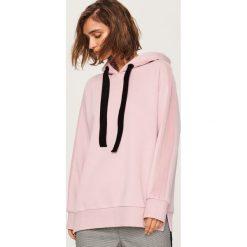 Bluza z kapturem - Różowy. Czerwone bluzy rozpinane damskie Reserved, l, z kapturem. Za 79,99 zł.