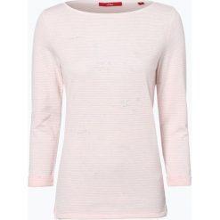 T-shirty damskie: s.Oliver Casual – Koszulka damska, różowy