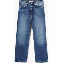 Mango - Jeansy Blue. Niebieskie jeansy damskie relaxed fit marki Reserved. Za 199,90 zł.