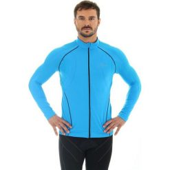 Bejsbolówki męskie: Brubeck Bluza męska Bicycle niebieska r. S (LS11060)