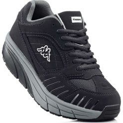 Buty sportowe Kappa bonprix czarno-szary. Czarne buty sportowe męskie bonprix. Za 239,99 zł.