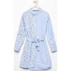 Sukienki dziewczęce: Sukienka koszulowa – Biały