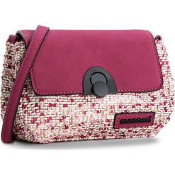 Torebka MONNARI - BAG3240-004 Pink. Czerwone listonoszki damskie Monnari, z materiału. W wyprzedaży za 119,00 zł.