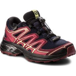 Buty sportowe damskie: Buty SALOMON – Wings Flyte 2 Gtx GORE-TEX 399714 20 W0 Evening Blue/Beet Red/Sunny Lime