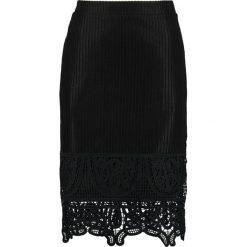Spódniczki ołówkowe: YAS Tall YASKYLA  Spódnica ołówkowa  black