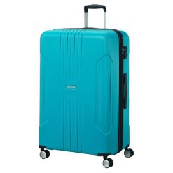American Tourister Walizka Podróżna Tracklite 78 Cm Jasnoniebieski. Zielone walizki marki American Tourister. Za 435,00 zł.