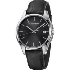 ZEGAREK CALVIN KLEIN TONE K7K411C1. Czarne zegarki męskie marki Calvin Klein, szklane. Za 1099,00 zł.