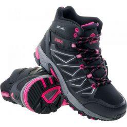 Buty trekkingowe damskie: ELBRUS Buty damskie Gabby Mid WP Black/Fuchsia  r. 37