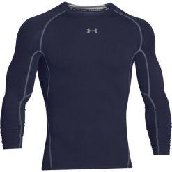 Under Armour Koszulka męska HeatGear LS Compression granatowa r. M (1257471-410). Czarne koszulki sportowe męskie Under Armour, m. Za 109,00 zł.