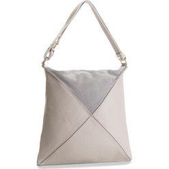 Torebka CREOLE - K10492 Szary. Szare torebki klasyczne damskie Creole, ze skóry, duże. W wyprzedaży za 159,00 zł.