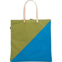 """Shopper bag damskie: Shopper bag """"Palm Tote"""" w kolorze zielono-niebieskim"""