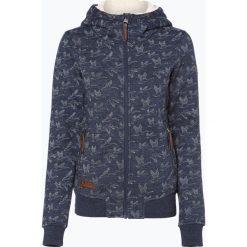 Odzież damska: Ragwear - Damska bluza rozpinana, niebieski