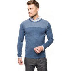 Sweter arosa półgolf niebieski. Szare swetry klasyczne męskie marki Recman, m, z długim rękawem. Za 169,00 zł.