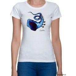 Bluzki, topy, tuniki: Błękitna trąbka – t-shirt – różne kolory