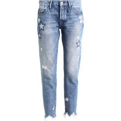 Rich & Royal EX BOYFRIEND BLUE STAR Jeansy Slim Fit denim blue. Niebieskie boyfriendy damskie marki bonprix. Za 549,00 zł.