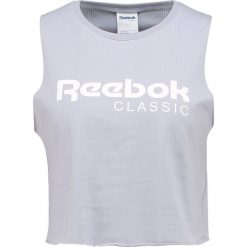 Topy damskie: Reebok Classic CROP TANK Top cool shadow