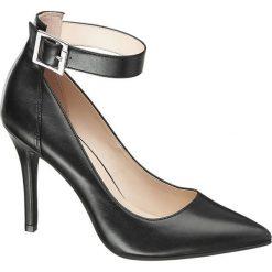 Szpilki: szpilki damskie Graceland czarne