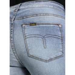 LOIS Jeans CORDOBA EDGE Jeans Skinny Fit summer patinage. Niebieskie jeansy damskie marki LOIS Jeans. W wyprzedaży za 356,30 zł.