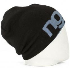 Nugget Czapka Unisex Logo 4 Reversible Beanie, Czarna. Czarne czapki zimowe damskie Nugget. Za 83,00 zł.
