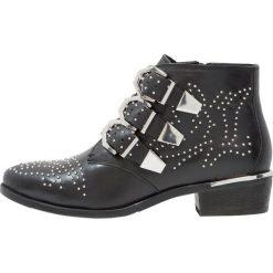 Bronx Ankle boot black. Czarne botki damskie skórzane marki Bronx. Za 569,00 zł.