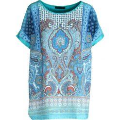 T-shirty damskie: Miętowy T-shirt Sage