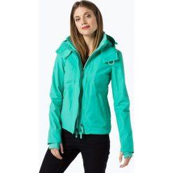 Superdry - Kurtka damska, niebieski. Szare kurtki damskie marki Superdry, l, z nadrukiem, z bawełny, z okrągłym kołnierzem. Za 499,95 zł.
