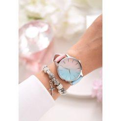 Różowo-Niebieski Zegarek Don't Run Away. Niebieskie zegarki damskie marki other. Za 39,99 zł.