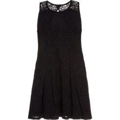 Sukienki dziewczęce z falbanami: Abercrombie & Fitch BARE SKATERS Sukienka koktajlowa black