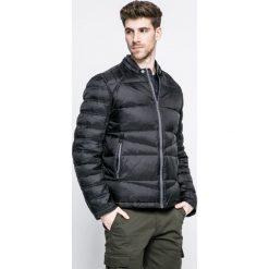 Trussardi Jeans - Kurtka. Czarne kurtki męskie jeansowe marki Trussardi Jeans, s. W wyprzedaży za 1099,00 zł.