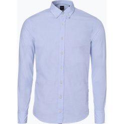 BOSS Casual - Koszula męska – Mabsoot, niebieski. Niebieskie koszule męskie na spinki BOSS Casual, l, z bawełny. Za 349,95 zł.