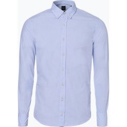 Koszule męskie: BOSS Casual – Koszula męska – Mabsoot, niebieski