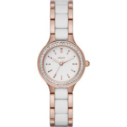 Zegarek DKNY - Chambers NY2496 Rose Gold/White/Clear. Białe zegarki damskie DKNY. Za 999,00 zł.