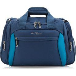 Torba na ramię V25-3S-236-99. Niebieskie torby na ramię męskie Wittchen, w paski, z poliesteru, duże. Za 125,00 zł.