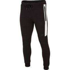 Joggery męskie: Spodnie dresowe męskie SPMD224 – głęboka czerń