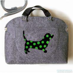 Kuferki damskie: Kuferek kolekcja DOG + kieszonki