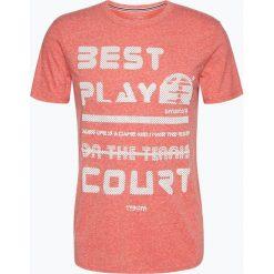 T-shirty męskie z nadrukiem: Tom Tailor Denim – T-shirt męski, czerwony