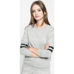 Lee - Bluza. Szare bluzy damskie Lee, l, z bawełny, bez kaptura. W wyprzedaży za 129,90 zł.