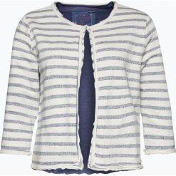 Bluzy damskie: Lieblingsstück - Damska bluza rozpinana, niebieski
