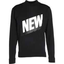 Soulland HEAVY ROLLNECK Sweter black. Czarne kardigany męskie marki Soulland, m, z materiału. W wyprzedaży za 655,85 zł.