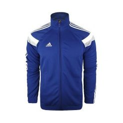 Bejsbolówki męskie: Adidas Bluza męska Commander Jacket niebieska r. 2XL (F93795)