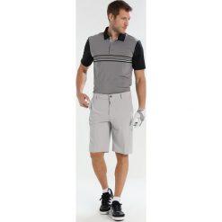 Adidas Golf ULTIMATE365 ENGINEERED POLO Koszulka sportowa grey/black. Szare koszulki sportowe męskie adidas Golf, m, z elastanu, na golfa. Za 269,00 zł.