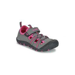 Sandały sportowe Dziecko  Kangaroos  KANGASPEED X4. Szare buty sportowe dziewczęce KangaROOS. Za 111,30 zł.