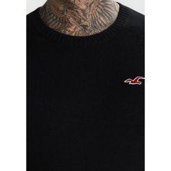 Swetry klasyczne męskie: Hollister Co. FALEM CREW Sweter black