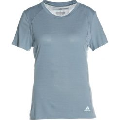 T-shirty damskie: adidas Performance TEE Tshirt z nadrukiem raw grey