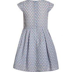 Sukienki dziewczęce z falbanami: mint&berry girls Sukienka koktajlowa pale blue/white