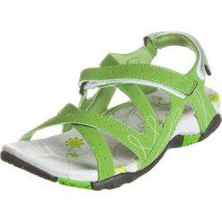 Rzymianki damskie: Sandały trekkingowe w kolorze zielonym