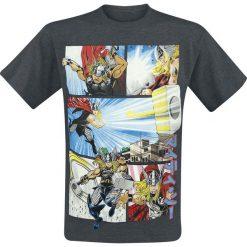 T-shirty męskie: Thor Anime Panels T-Shirt odcienie ciemnoszarego